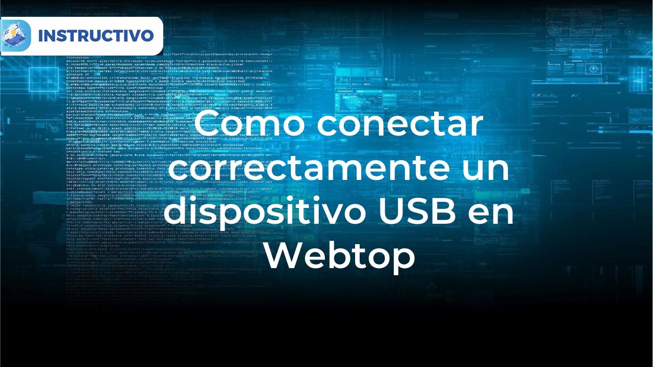 Como conecto un USB